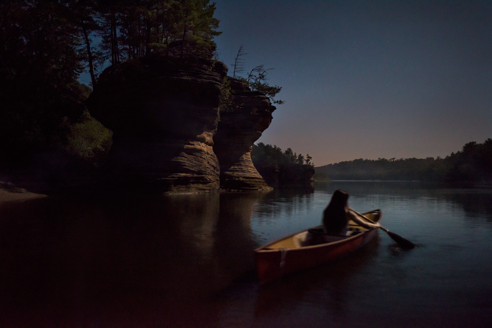 River-Archive-Canoe-Moon